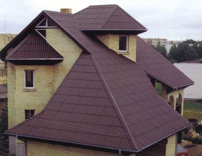 Фото красивых крыш.